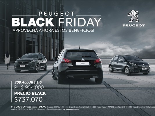 Black friday Peugeot